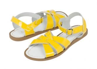 Salt-Water Yellow Sandals  http://www.salt-watersandals.com #alegremedia
