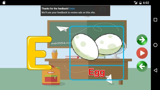 Aprende el ABCedario en Ingles: miniatura de captura de pantalla