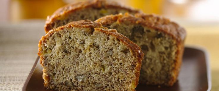 Rich buttermilk, crunchy nuts and flavorful, ripe bananas make this banana bread tops. (see last reader tip about putting all but dry ingred. in blender!)