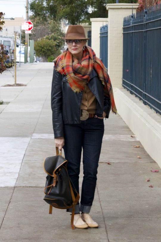 power of plaid   style at a certain age #overfiftyblogger
