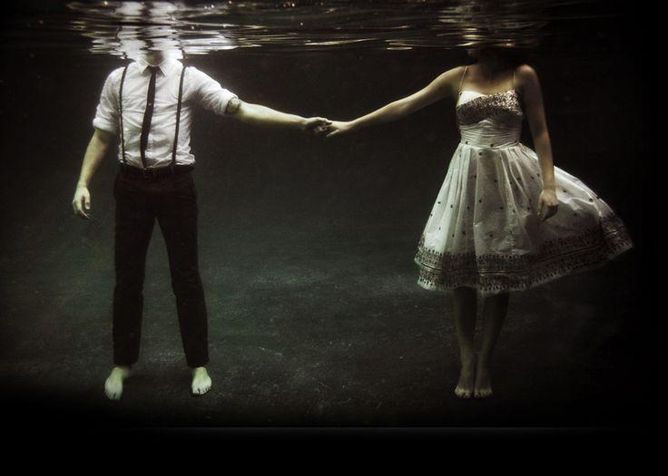 Romance underwater
