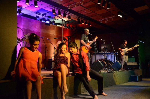 Danza, presente en la Rue Moderna. Noviembre 2014