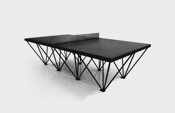An Outdoor Ping Pong Table For Design Lovers | Ping Pong Table, Game Tables  And Tables