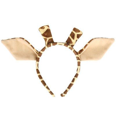 Giraffe Ears on Headband Pk 1