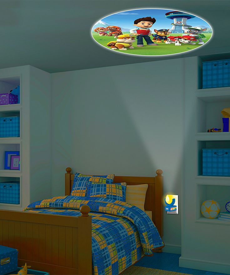 Paw Patrol Six Image Projectables 174 Led Night Light Paw
