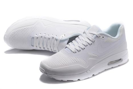 NIKE AIR MAX 87 White Mesh - $58.00 | nike and adidas shoes | Scoop.it