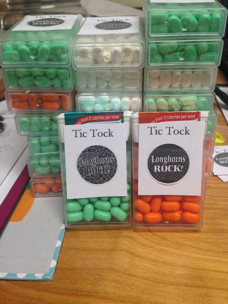 Game day locker treats! Sports candy tic tacs | Education ...