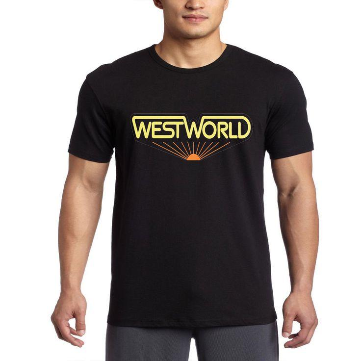 Westworld T Shirt HBO TV Series West World Logo jk collection Mens T-Shirt S-2XL #Gildan #BasicTee