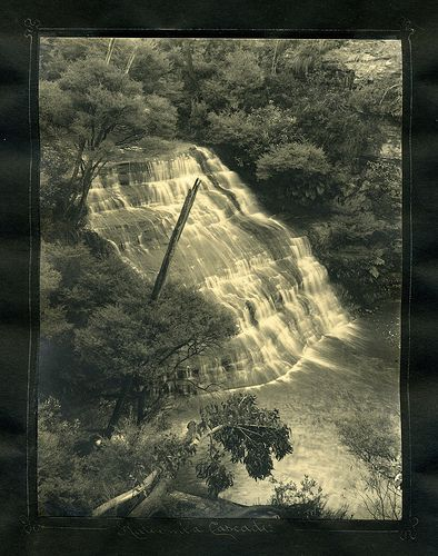 Katoomba Cascades  From an album of Harry Phillips photos                                               Notes: From an album of Harry Phillips photos
