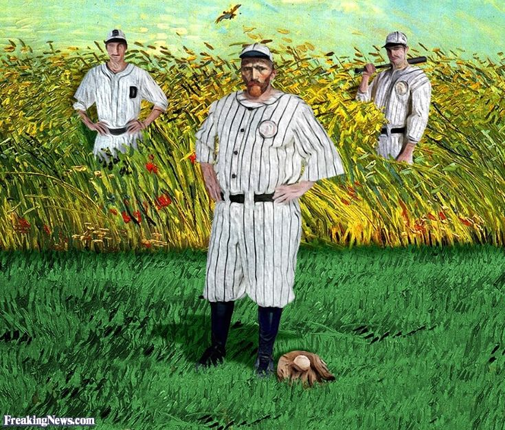 Vincent Van Gogh's Field Of Dreams