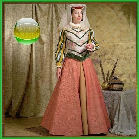 pattern kingdom ladies medieval - photo #3