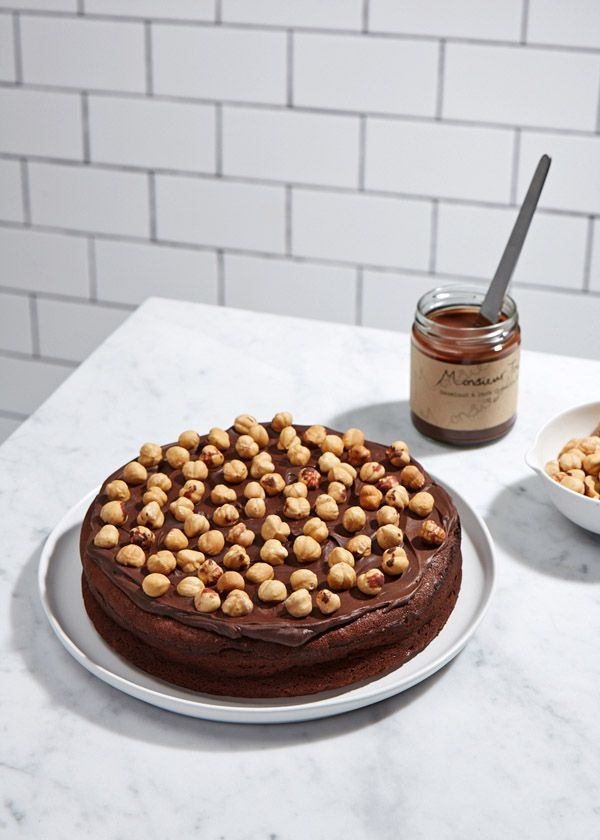dark chocOlate hazelnut cake
