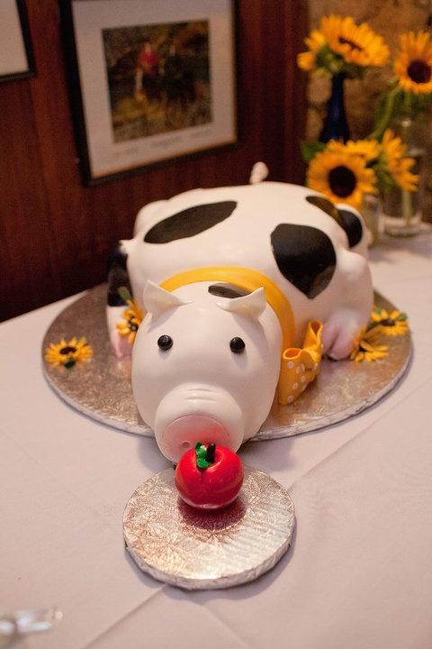 Pig Cake, Keswick, VA.  Photo Courtesy Jeff Greenough Photography