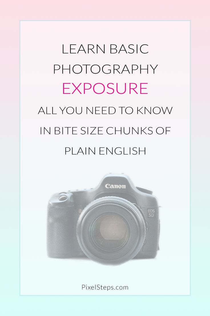 Photography Tips |Camera Exposure Meaning in Plain English - Learn the definition of exposure, how aperture and shutter speed impact exposure & how this improves your photos.