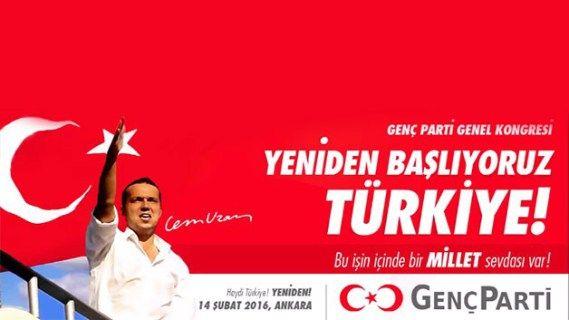 Genç Parti Lideri Cem Uzan yeniden siyasete giriyor!