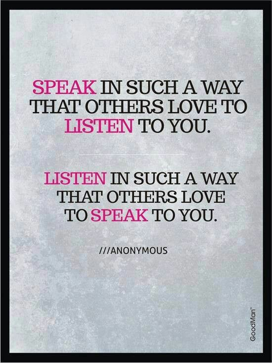 learn to listen quotes - photo #37
