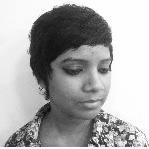 37 besten kurzen Frisuren für indische Frauen: Ideen, die ...