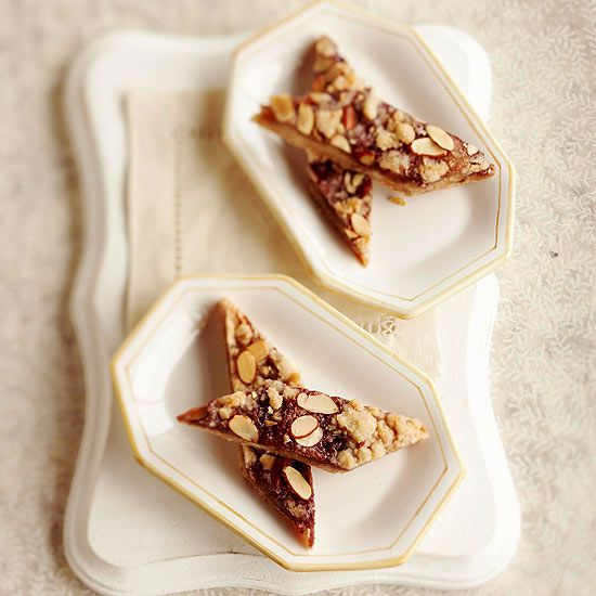 Almond paste imbues these bars with intense nutty flavor. But the secret convenience is the sugar cookie mix that is the starting point for the crust and topping.