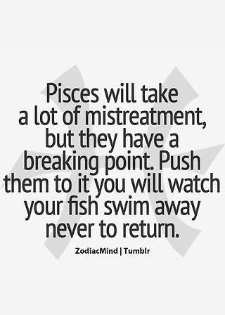 Pisces Quotes Adorable Couldn't Have Said It Better  Pisces♓  Pinterest  Pisces