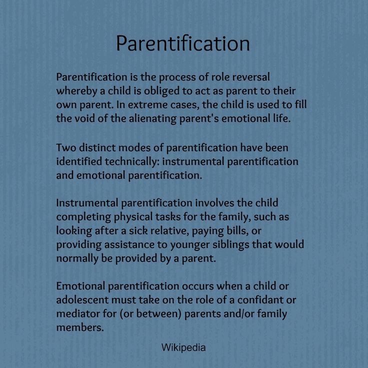 Parentification:  sound familiar?  The olders did all the physical stuff for her, and the youngers had to be her confidants.