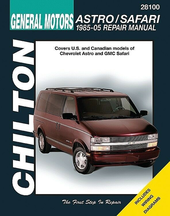 Advertisement Ebay Repair Manual Fits 1985 2005 Gmc Safari