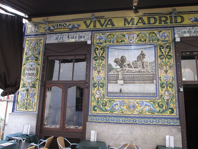 Taberna Viva Madrid, Huertas. Madrid by voces, via Flickr