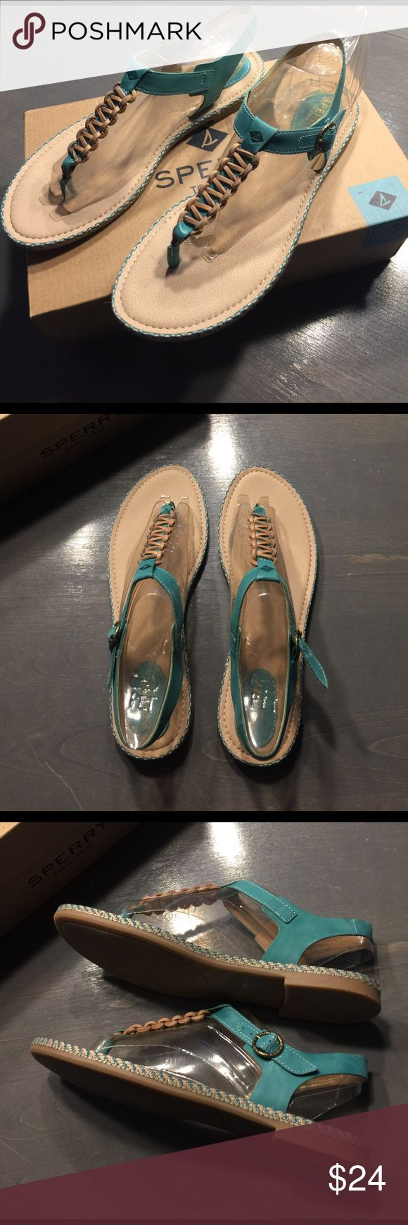 Sperry Anchor Away Teal Sandals Brand New w/tags Sandals in Teal size 8.5 Sperry Shoes Sandals