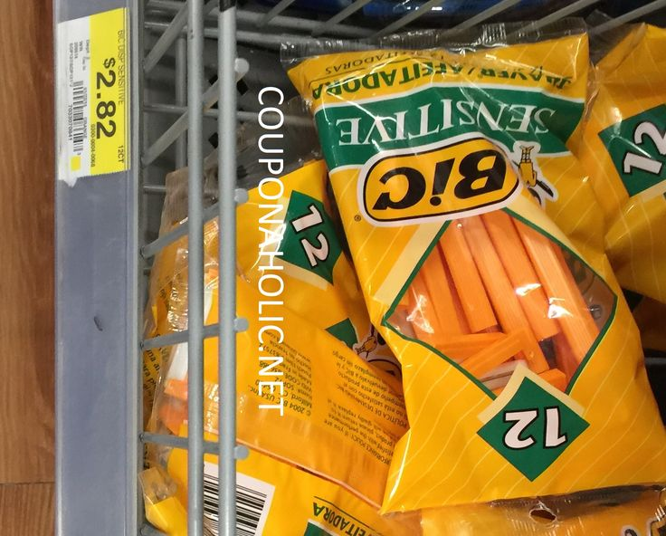 Walmart: MONEYMAKER BIC Razors after High Value Newspaper Coupon! - http://www.couponaholic.net/2015/03/walmart-moneymaker-bic-razors-after-high-value-newspaper-coupon/
