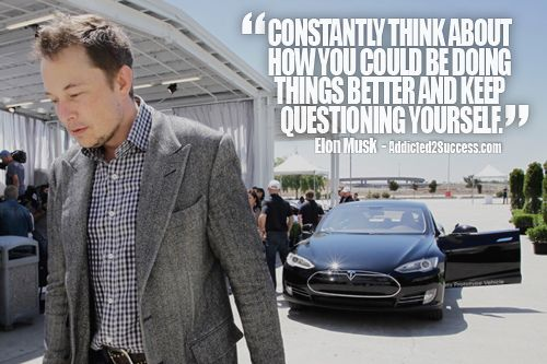 Great article on Elon Musk. His diligence and vision is incredible.