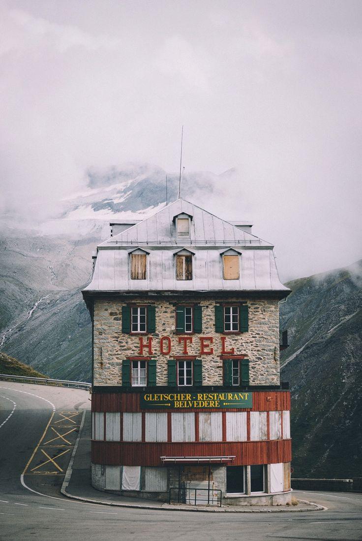 "bokehm0n: "" Grand Budapest Hotel in Switzerland. """