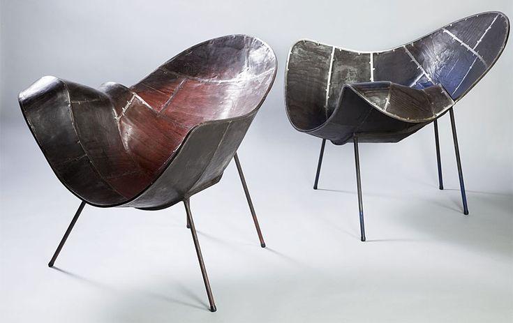 Sillones 02 - Grandes Diseñadores de Muebles - Muebles esculturales