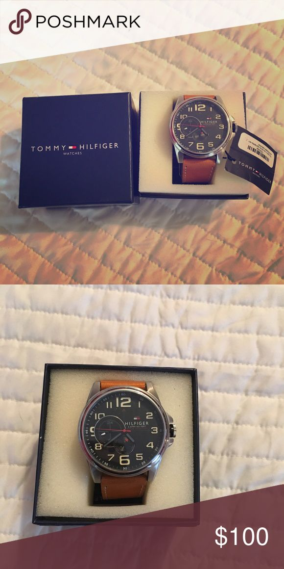 Tommy Hilfiger new men's watch New no damage .. new battery (hats been turned off since gifted ) Tommy Hilfiger Accessories Watches