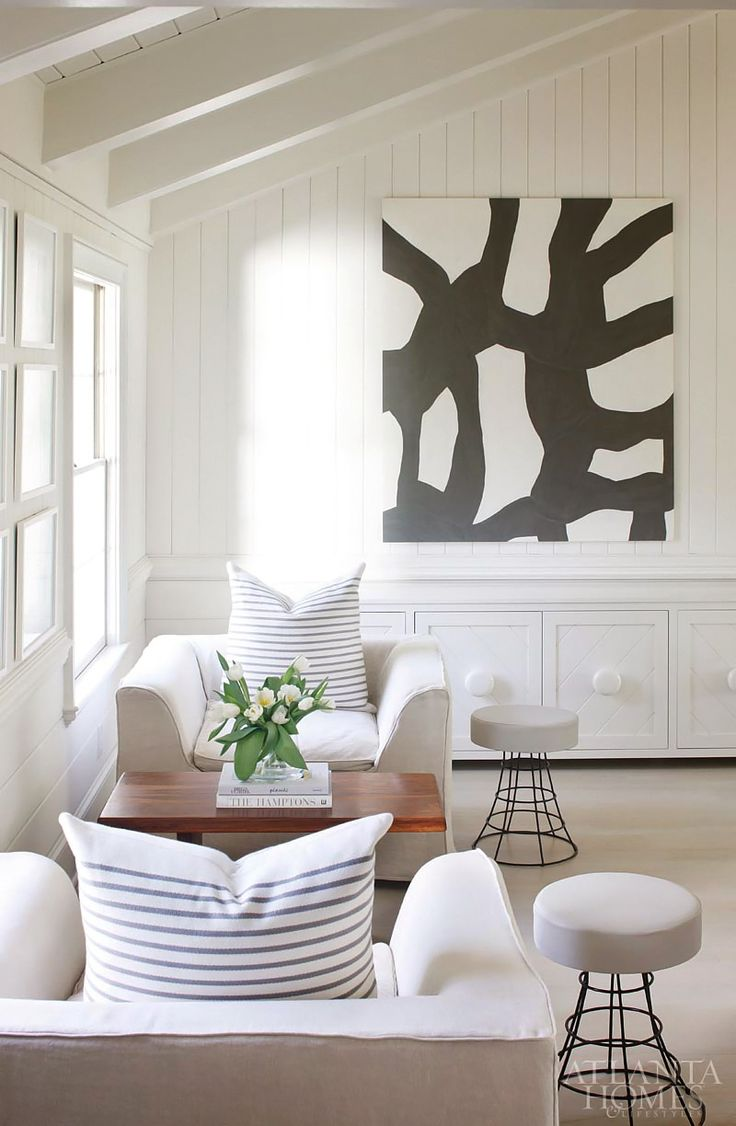 Black And White Abstract Living Rooms Pinterest Modern Farmhouse Atlanta Homes And Farmhouse