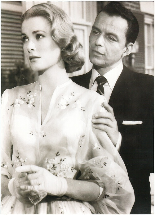 Grace Kelly & Frank Sinatra | More Grace Kelly lusciousness here: http://mylusciouslife.com/photo-galleries/entertainment-books-movies-tv-music-arts-and-culture/