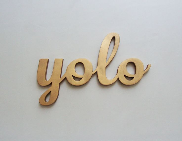 """i'm so sick of this. my boyfriend and i were at a lighthouse and a college kid came up with his buddies and shouted, """"This is so yolo!"""" no...it wasn't."""