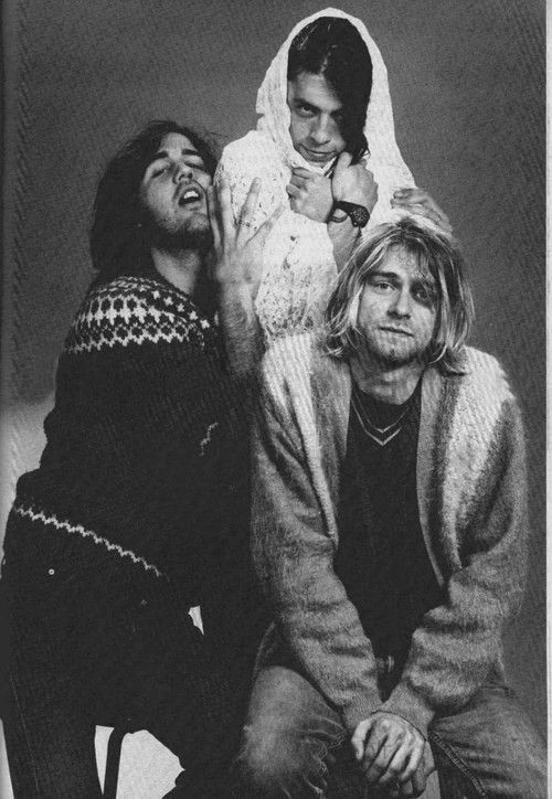 Nirvana, the band that first got me into music, I kinda owe them big time.
