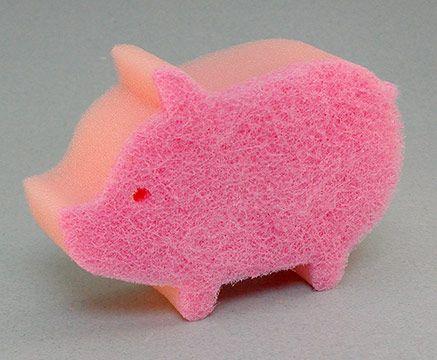 Piggy Kitchen Sponge (016046)