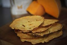Domaci dynove tortilly /Homemade pumpkin tortillas/ Bezlepkový a nízkosacharidový zdravý recept /Gluten free and low carb healthy recipe/