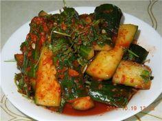 Кимчи (острый салат) из огурцов - по корейски