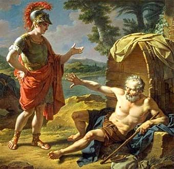 Biografia de Diógenes el Cínico
