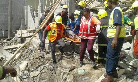 News Update: Residents in Shock as Baby Dies Others Trapped in Building Collapse Tragedy in Lagos