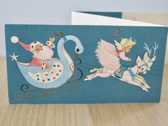 Hallmark New Baby Bambi Card A Tiny Girl Medium