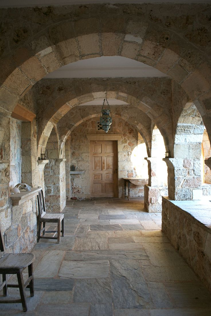 Patrick Leigh Fermor's house in Kardamyli