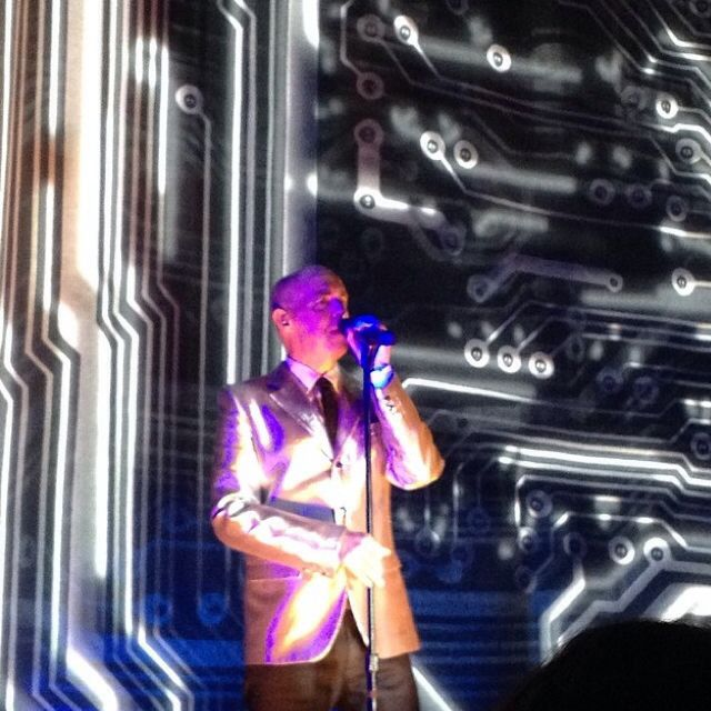 #NeilTennant in Austin, TX on 4/16/2014 #PetShopBoys