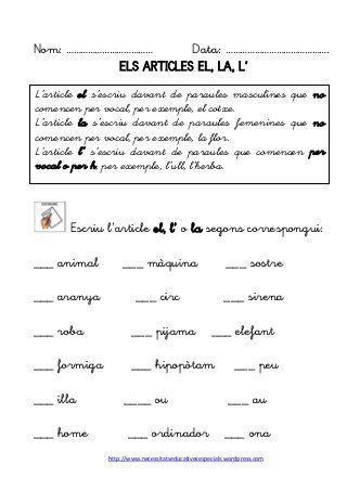 Dossier de gramatica