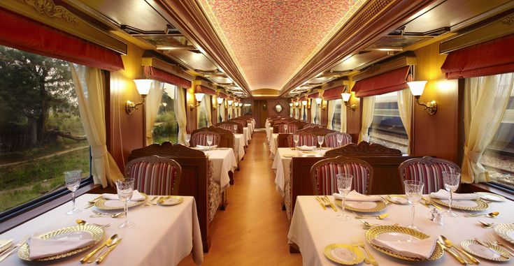 These are not the pictures of a hotel. These are #luxurytrains. Come and experience #royal #India in royal style. Book now- http://bit.ly/25LeWGt #travel #ttot #Indecubotravels