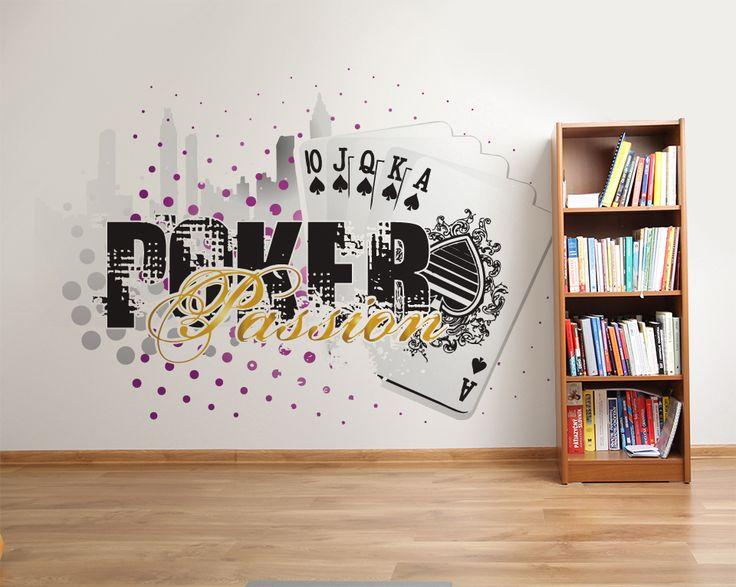 Wallpaper Sticker POKER PASSION by Sticky!!!