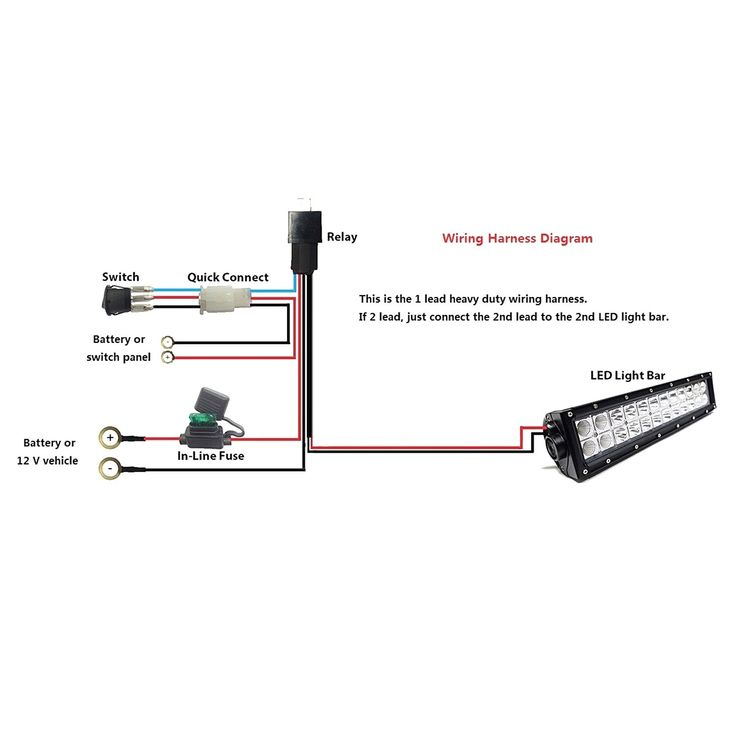Unique Wiring Diagram For Light Bar Switch  Diagrams
