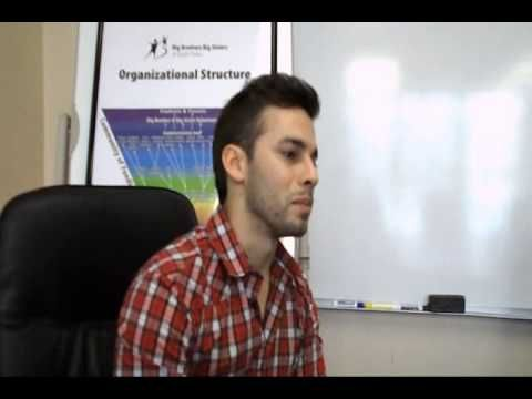 Drew Reinartz talks about being in the Big Brothers Big Sisters program part 1
