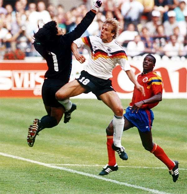 Alemania vs Colombia -Italia 90-